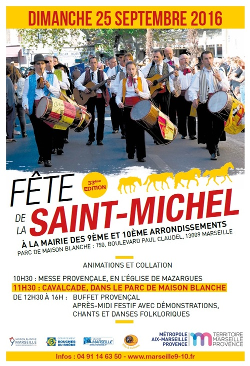 Fête de la Saint Michel Parc de Maison Blanche Mairie 9-10
