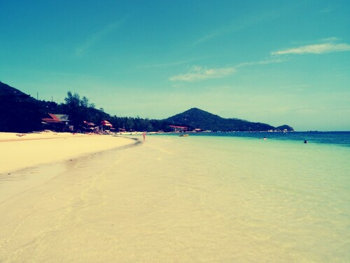Koh Tao or the almost paradise island
