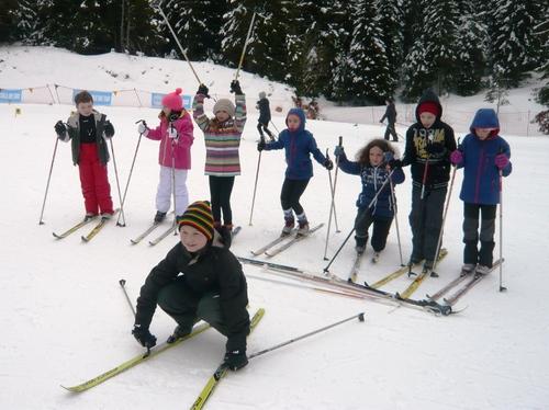 CE2 et CE2-CM1 ski de fond