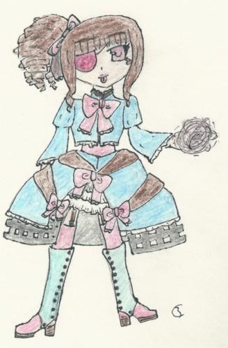 OC Clara ( alias Nunuche n°1 )