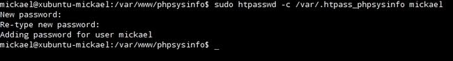 Afficher les statistiques du système avec PHPSYSINFO