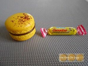 Macarons au chocolat au lait