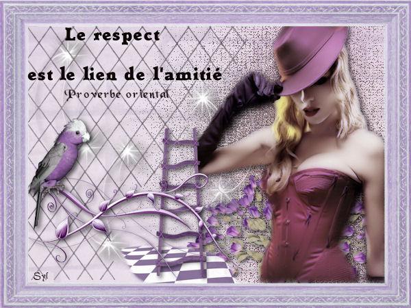 Citation le respect