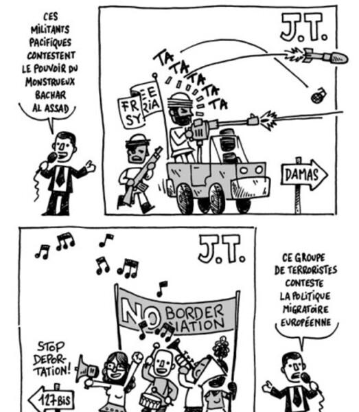 médias pacifistes TB syrie
