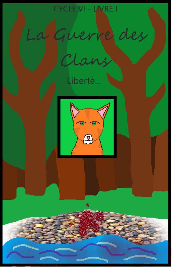 Couverture du livre 1 de ma Guerre des Clans