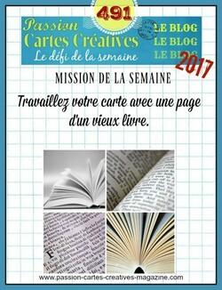 Passion Cartes Créatives#491 !