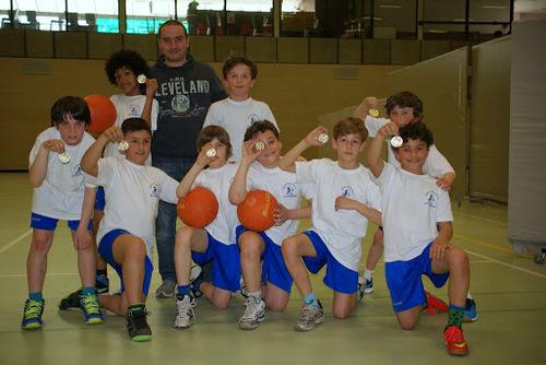 Tournoi de basket de ce 1er avril à Berchem-Sainte-Agathe