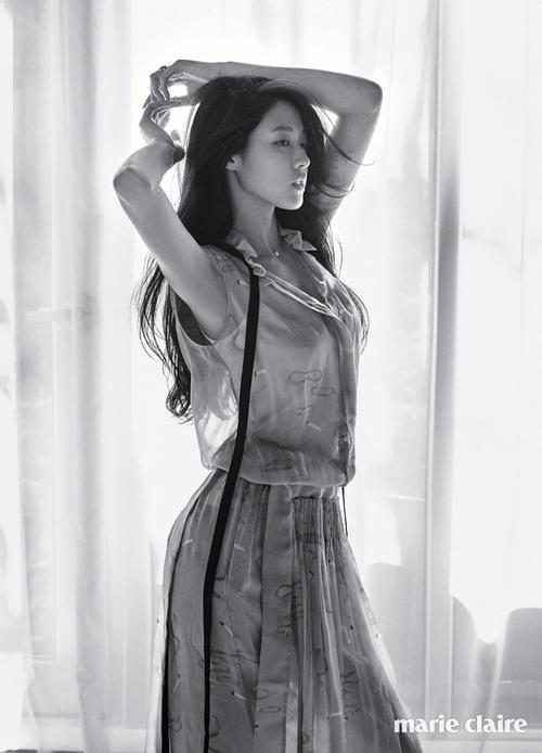 Seol Hyun pour Marie Claire