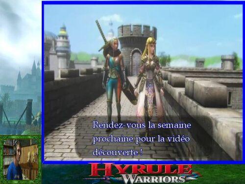 Bientôt la vidéo découverte de hyrule warriors + infos wt zelda
