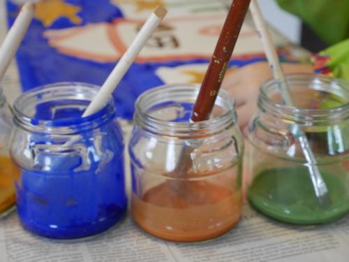 La peinture naturelle en poudre