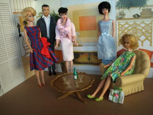 Barbie vintage : Baby sits