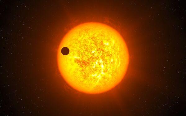 Une des techniques utilisées par l'humanité pour détecter des exoplanètes repose sur le transit de celles-ci devant leur étoile. Il est raisonnable de penser que des civilisations E.T. avancées font de même dans leur recherche d'une vie ailleurs. © Eso