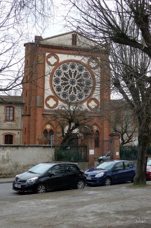 Toulouse : église N D de Lourdes (1)