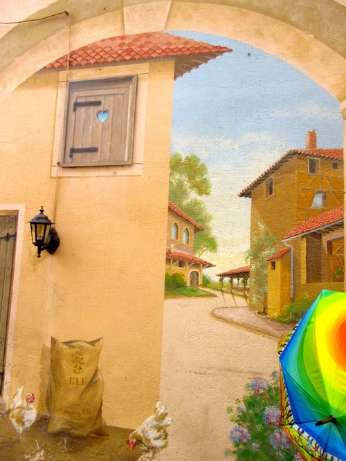Nos ombrelles et façades peintes