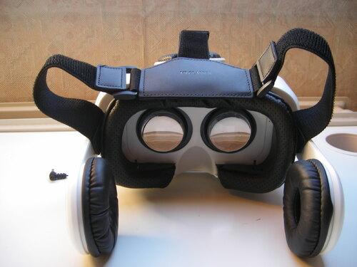 Elegiant casque 3D (avec écouteurs)