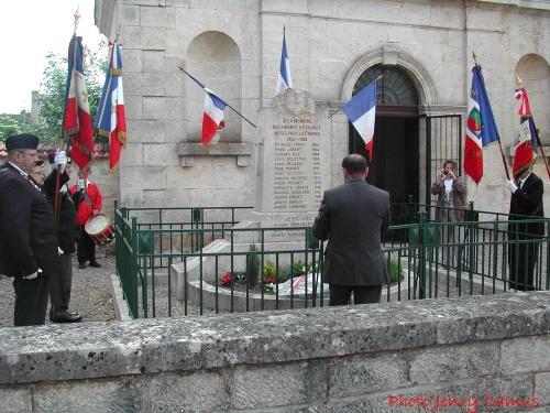 Cérémonie 2012 en mémoire des martyrs d'Essarois