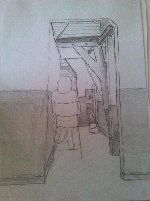 Croquis - Entre quatre murs