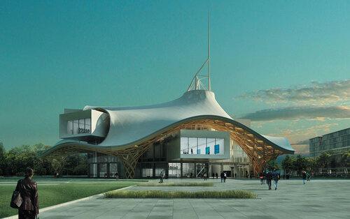 Centre Pompidou Metz.