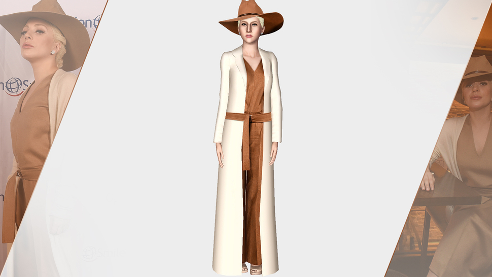 MAX MARA 2015 LIGHT BROWN JUMPSUIT