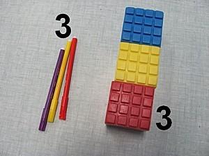 trois objets