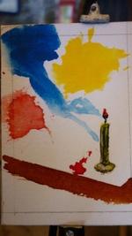 mes minis peintures au 12 ème