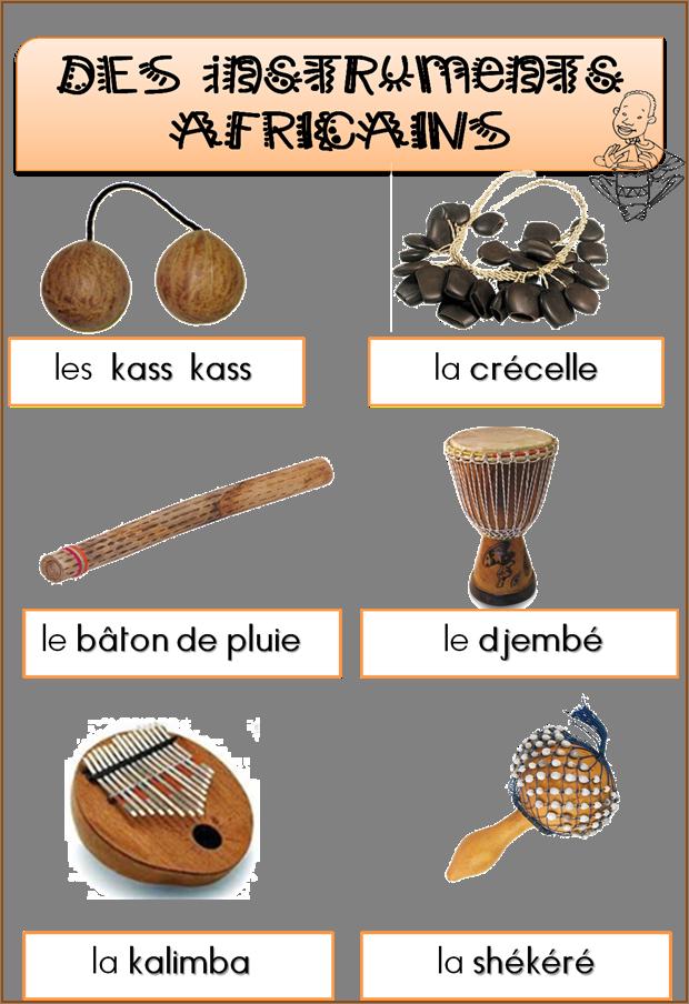 Les instruments africains  Saperlipopette ~ Instrument En Bois Africain