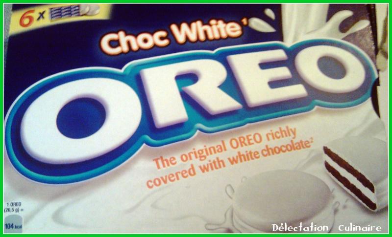 Test Oréo au chocolat blanc ...