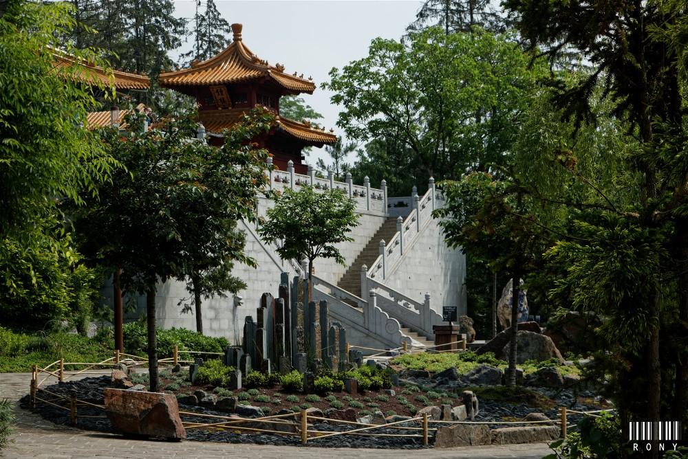 Les Cinq Montagnes Sacrées de Chine.