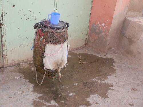Une fontaine à eau