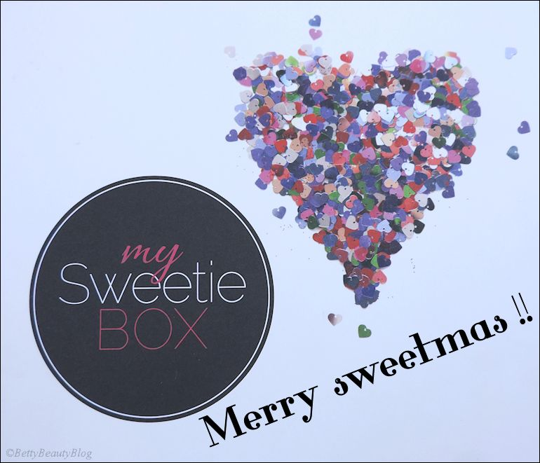 My sweety box merry sweetmas !