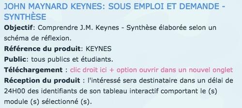 FICHE AUTEUR - J.M. KEYNES