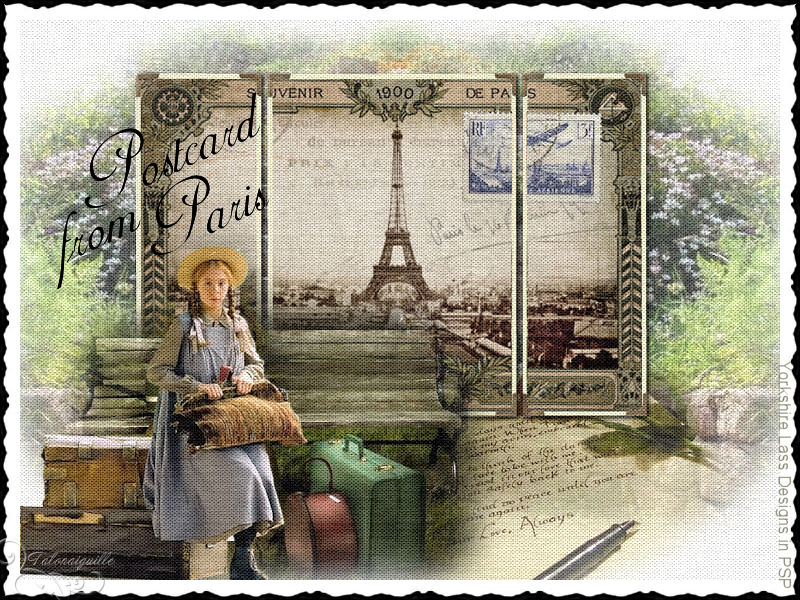 *** Postcard From Paris ***