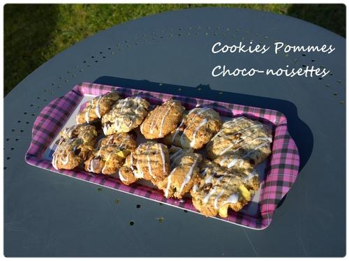 A venir : Cookies pommes choco-noisettes