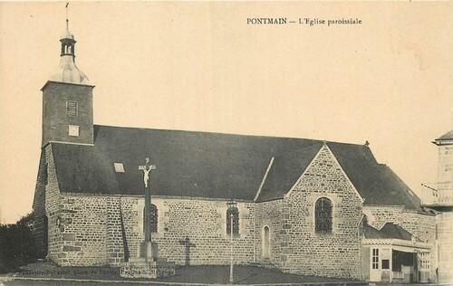 Pontmain : l'église paroissiale