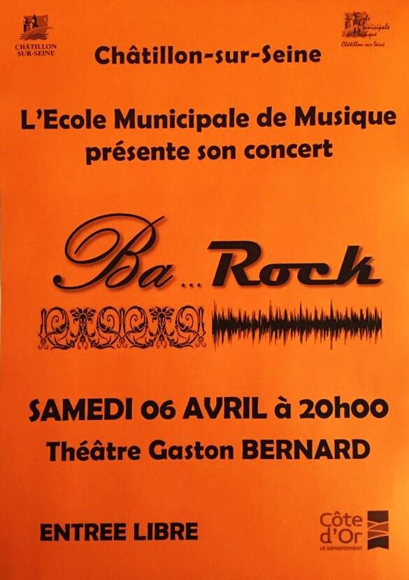 Le concert de l'Ecole Municipale de Musique (AMM) c'est pour bientôt !