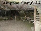 La roque st Christophe: Dordogne (24)