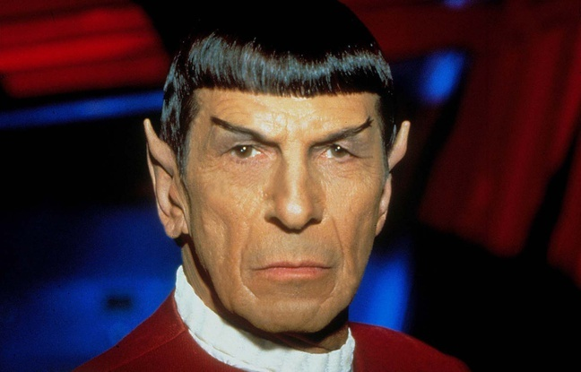 L'acteur  Leonard Nimoy  dans la série culte «Star Trek».