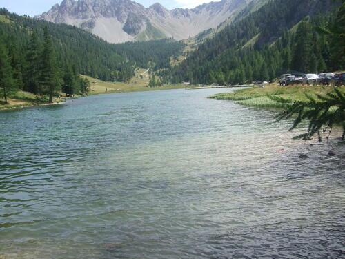 Lac de l'Orceyrette (Hautes Alpes)