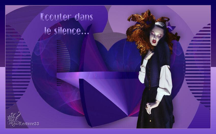 ECOUTER DANS LE SILENCE