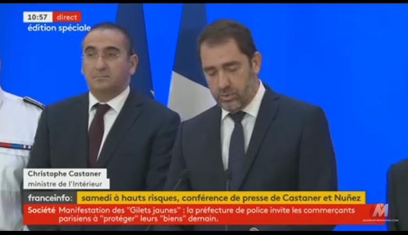 """""""Casseurs de M. Castaner"""" : le ministre de l'Intérieur va porter plainte contre Dupont-Aignan"""