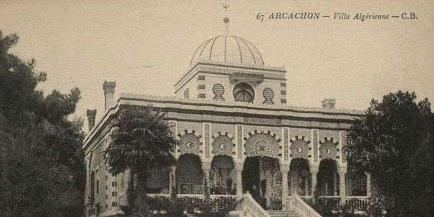 Villa algérienne aujourd'hui disparue