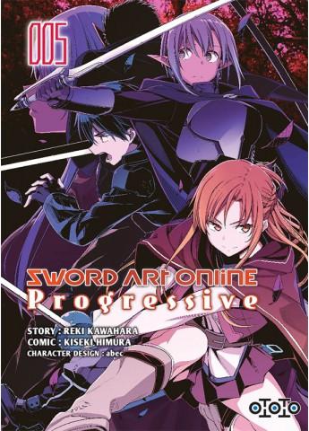 Sword art online - Progressive - Tome 05 - Reki Kawahara & Kiseki Himura & Abec