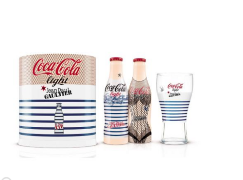 "COCA-COLA x JEAN-PAUL GAULTIER   Coffret Collector Exclusif ""Night & Day"""