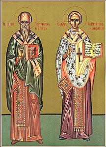 Saint Epiphane de Salamine. Evêque de Chypre († 402)