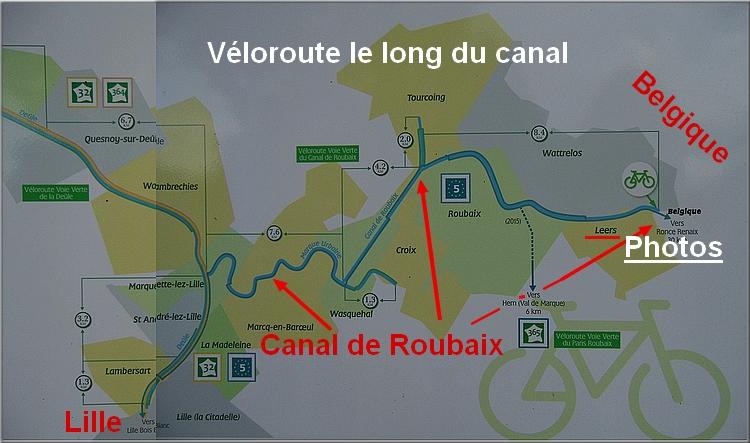 Historique du canal reliant la Deûle (Lille) à l'Escaut (Belgique)
