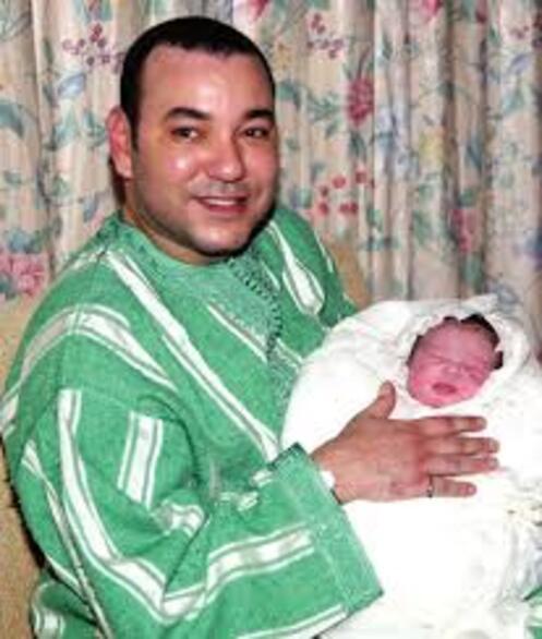 """Résultat de recherche d'images pour """"Images Mohamed 6 et sa famille"""""""
