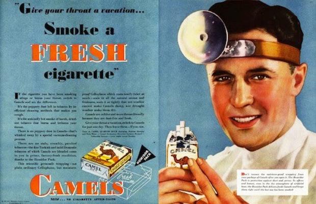 Fumez une cigarette