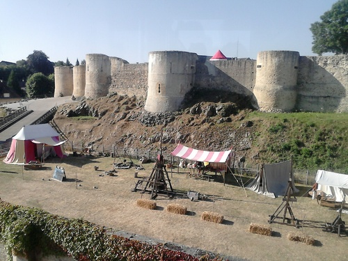 - Falaise 2016, château de Guillaume le Conquérant