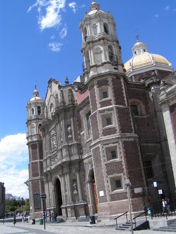 Mexico, Mont Tepeyac :  Notre-Dame de Guadalupe