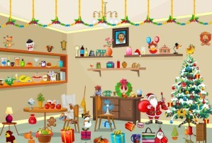 Christmas party - Hidden objects